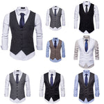 Fashion Gilet Mens, Cut Slim Fit, Style British