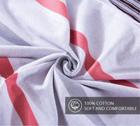 Lula 100% Cotton 225 Thread Count Duvet Cover Set