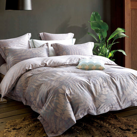 Craft Garden 100% Washed Cotton 375 Thread Count Luxury Sized Duvet Cover Set