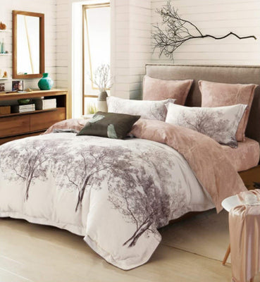 Cyrelle 100% Washed Cotton 360 Thread Count Luxury Sized Duvet Cover Set