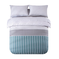 Jardin 100% Cotton 250 Thread Count Duvet Cover Set