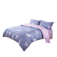 Rosetta 100% Cotton 225 Thread Count Duvet Cover Set