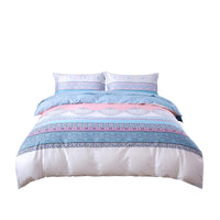 Mindala 100% Cotton 250 Thread Count Duvet Cover Set