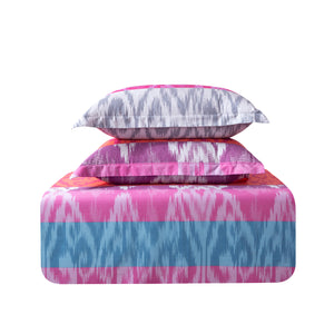 Lombok 100% Cotton 250 Thread Count Luxury Sized Duvet Cover Set