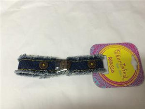 CA123 - DENIM CANVAS BRACELET