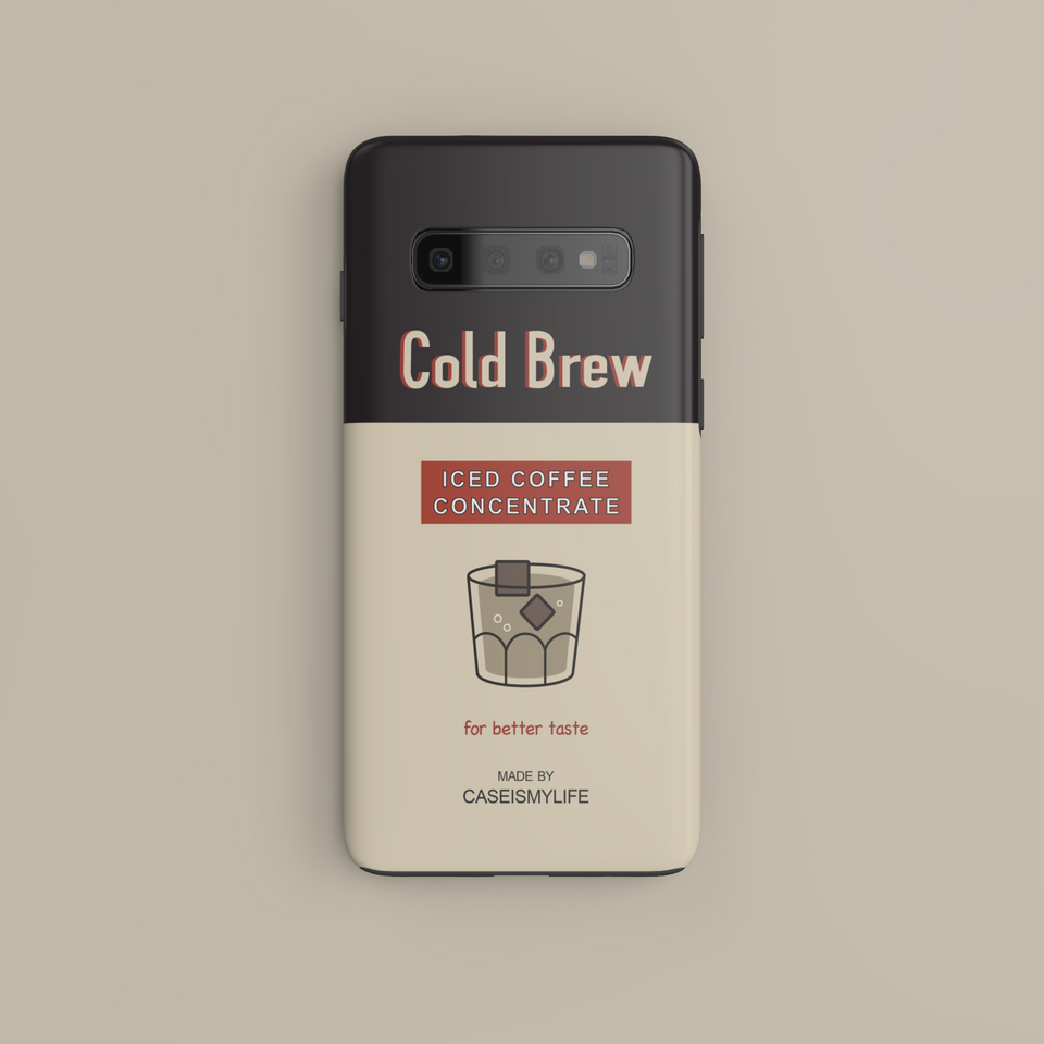 Cold Brew Iced Coffee Concentrate