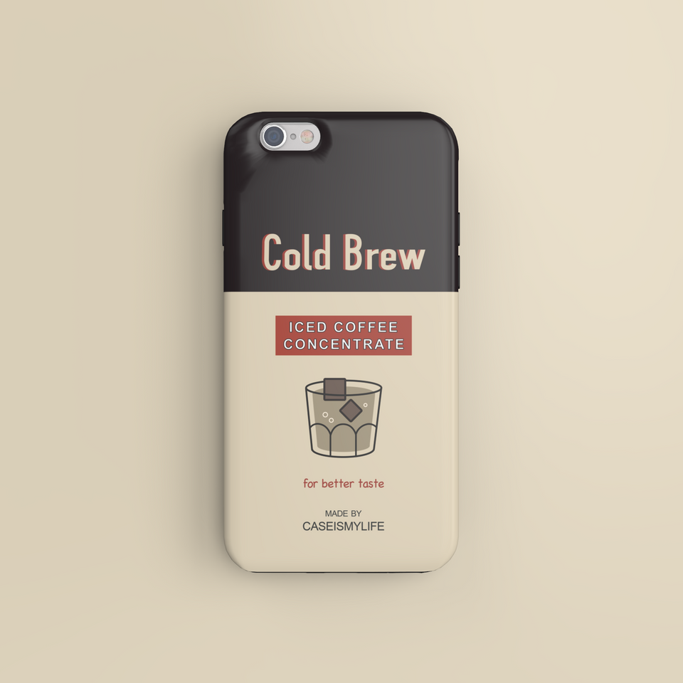 Cold Brew Iced Coffee Concentrate - CaseIsMyLife