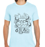 Birthday Cake-ECO Tshirts.com