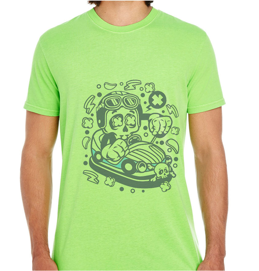 Car Toy Skull-ECO Tshirts.com