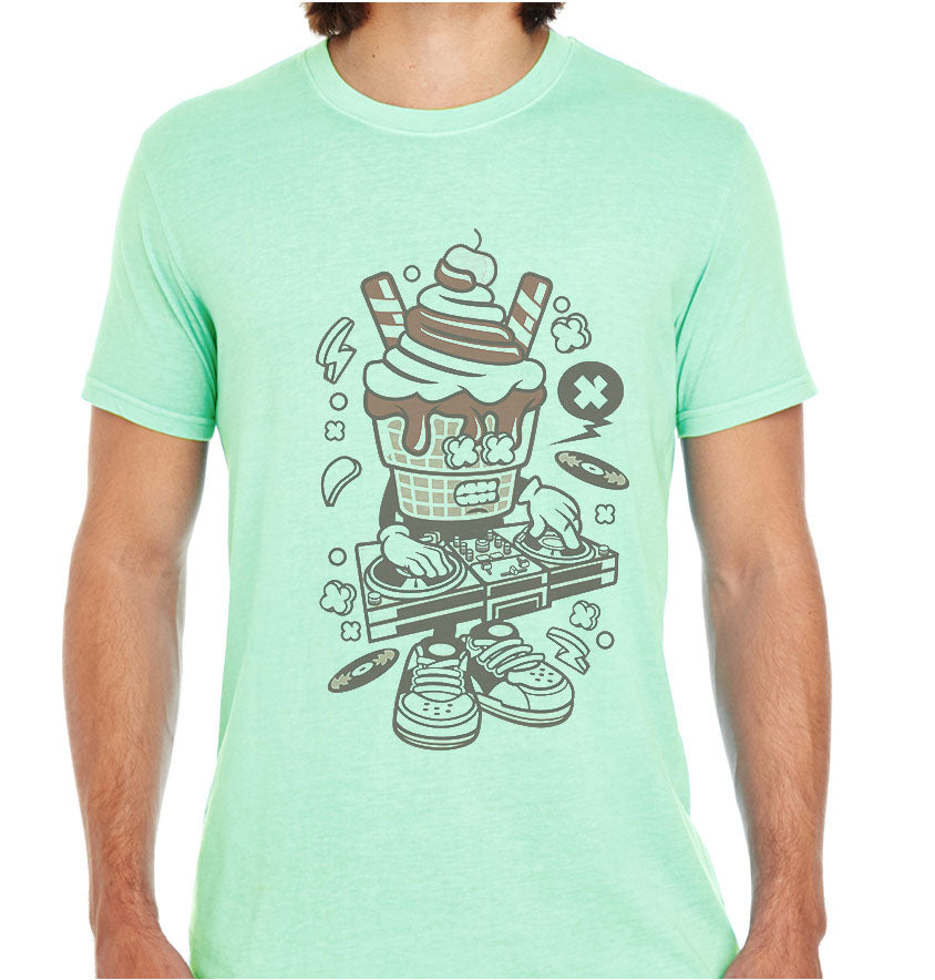 Dj Ice Cream-ECO Tshirts.com