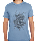 Dagger And Snake-ECO Tshirts.com