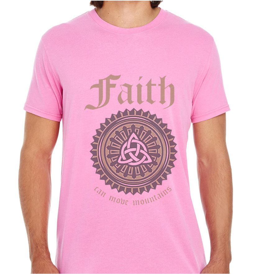 Faith Can Move Mountains-ECO Tshirts.com