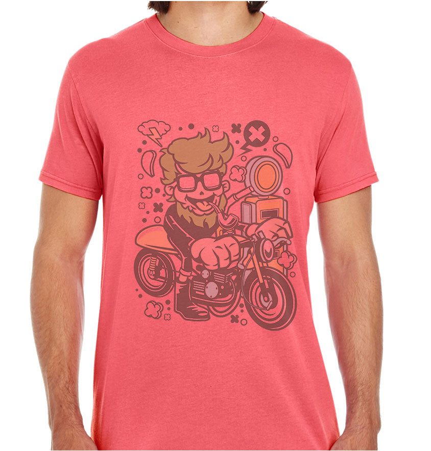 Hipster Caferacer-ECO Tshirts.com