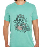 Hot Rod Skull-ECO Tshirts.com