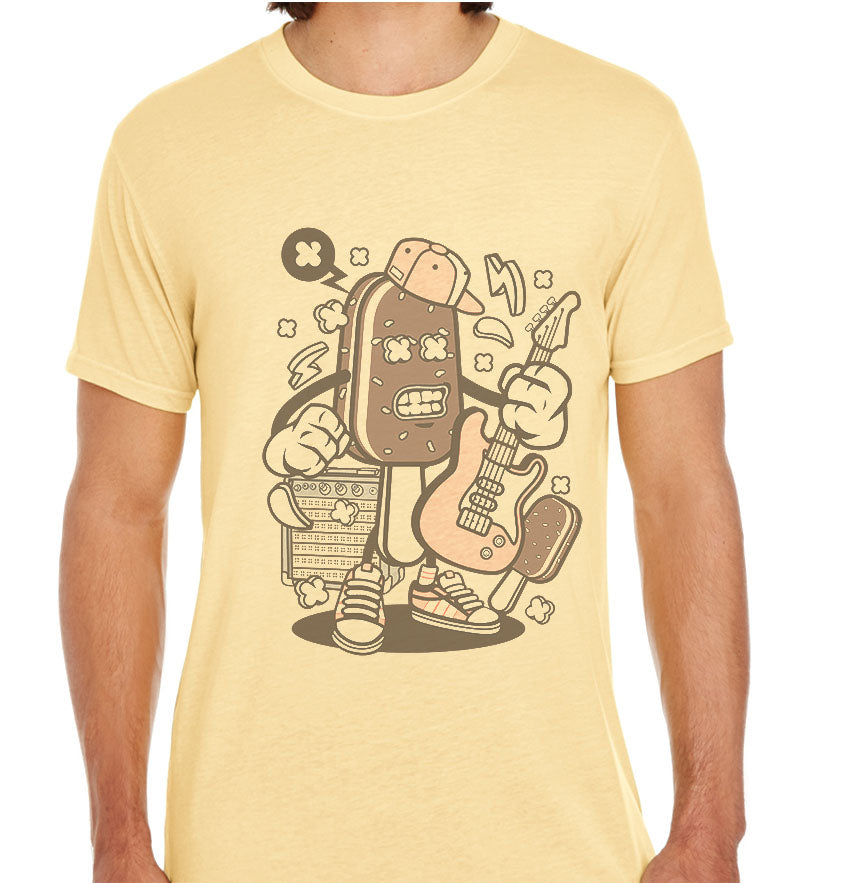 Ice cream Rockstar-ECO Tshirts.com