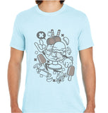 Ice Cream Skateboard-ECO Tshirts.com