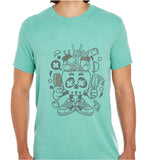 Ice Cream Skull Head-ECO Tshirts.com