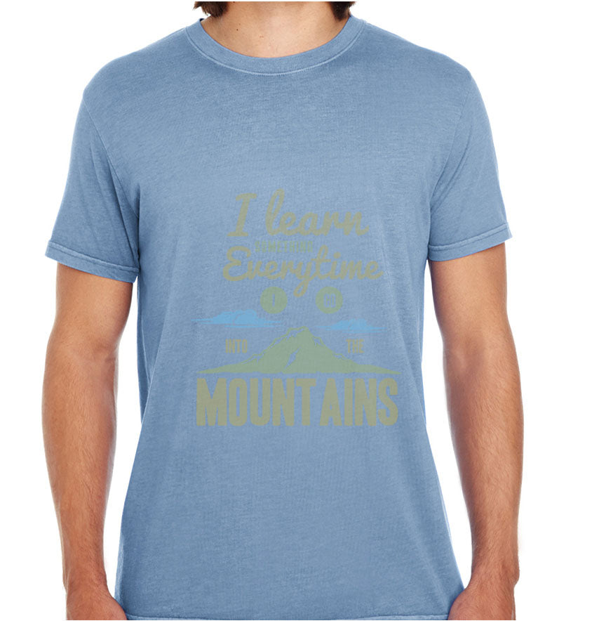Learn From The Mountains-ECO Tshirts.com