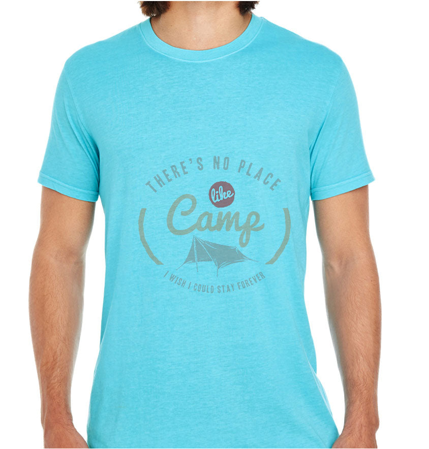 No Place Like Camp-ECO Tshirts.com