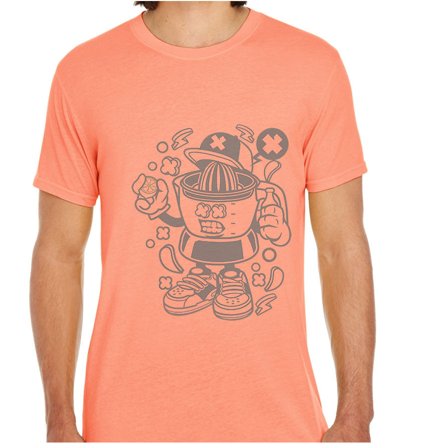 Orange Squeezer-ECO Tshirts.com
