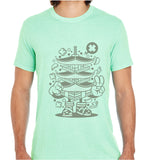 Pagoda Tower-ECO Tshirts.com