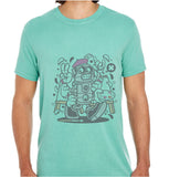 Painter Robot-ECO Tshirts.com