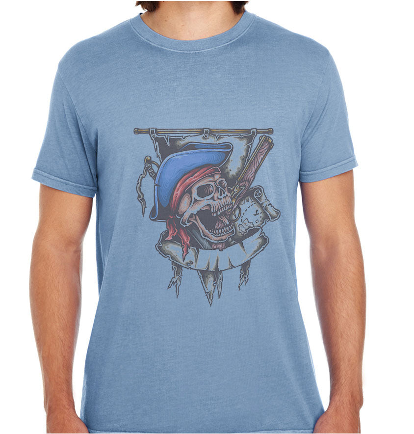 PirateSkull-ECO Tshirts.com