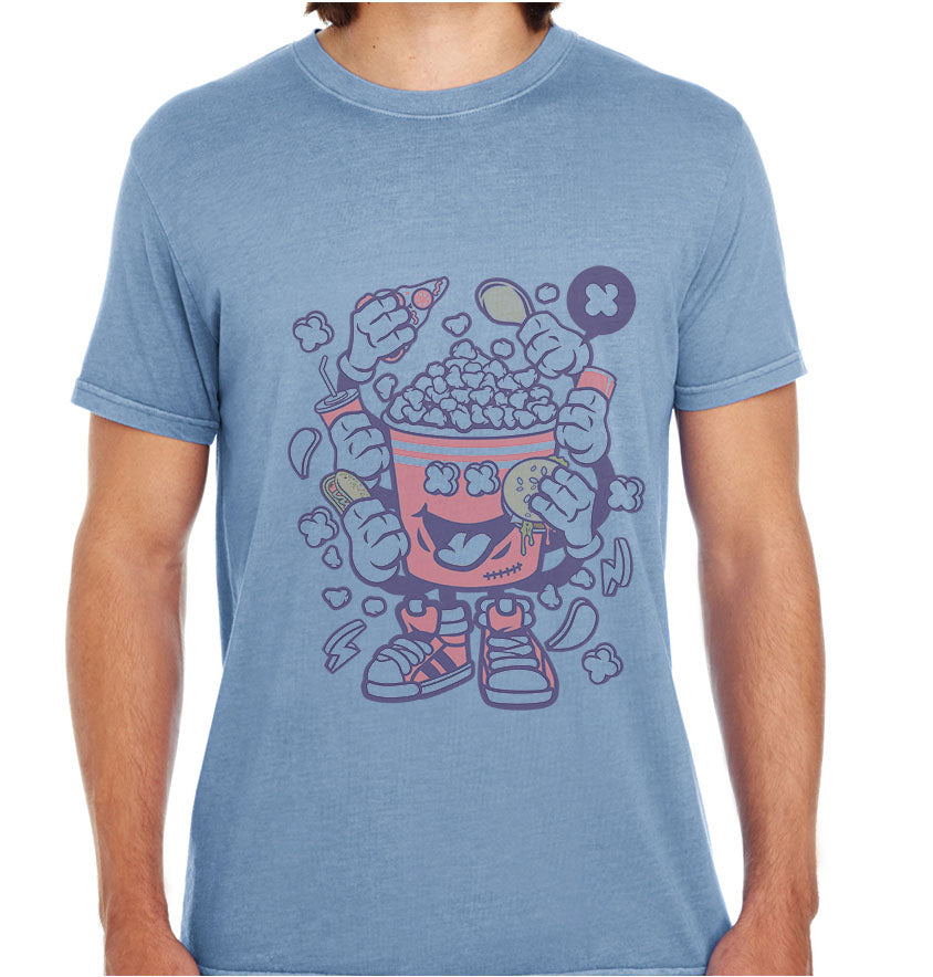 Popcorn Monster-ECO Tshirts.com