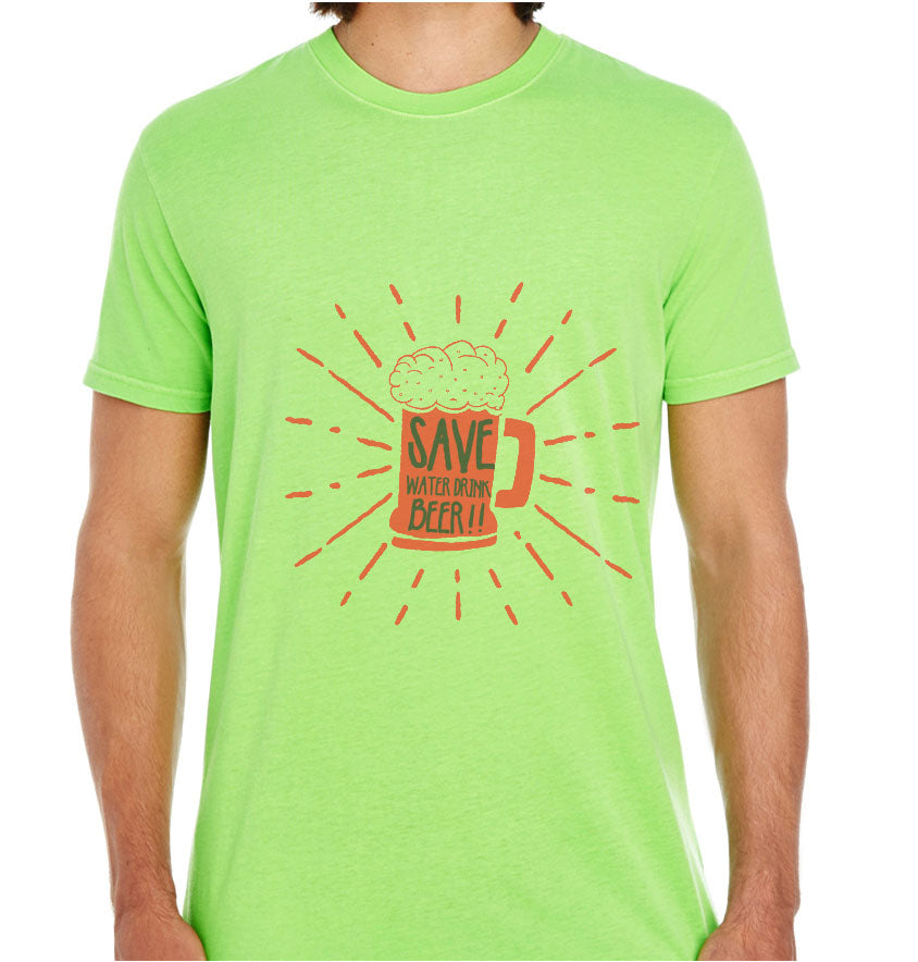 Save Water Drink Beer-ECO Tshirts.com