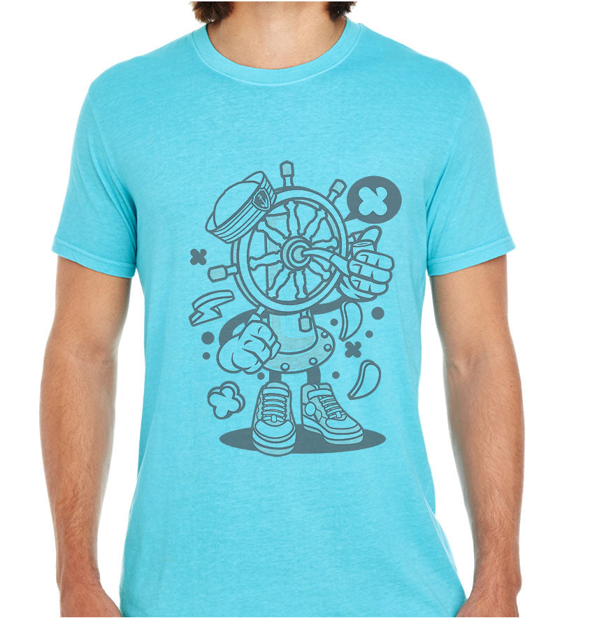 Ship Wheel-ECO Tshirts.com