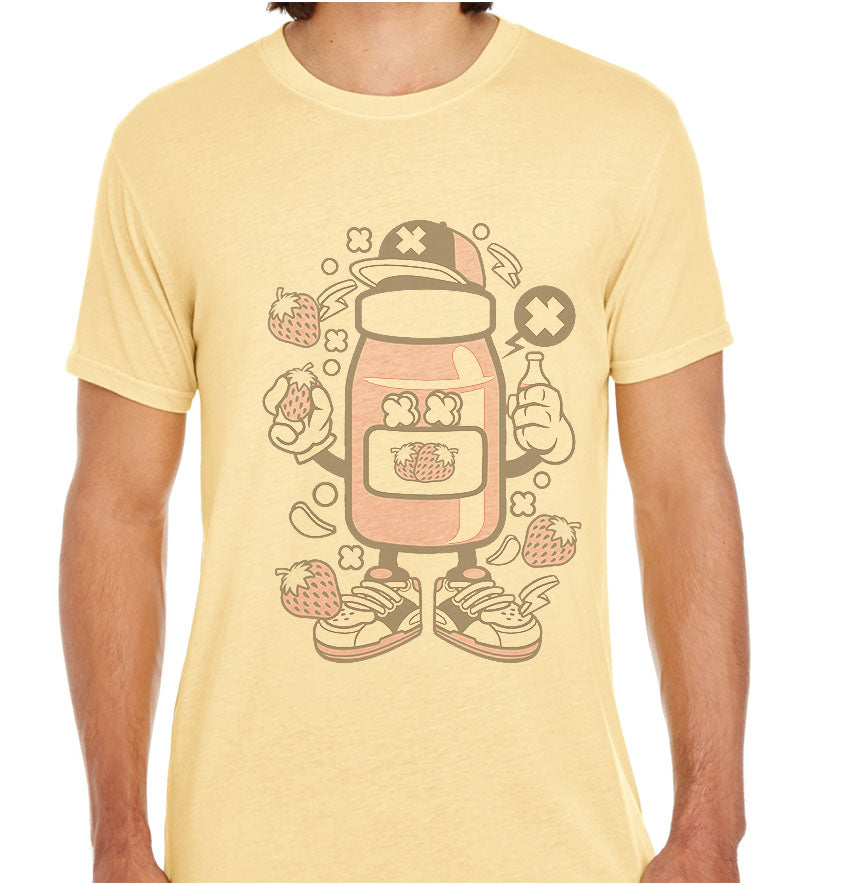 Strawberry Jam-ECO Tshirts.com