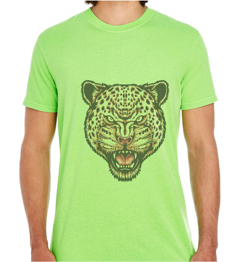 Strength and Focus ( Jaguar Head )-ECO Tshirts.com