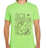 Super Hero Flaskid-ECO Tshirts.com