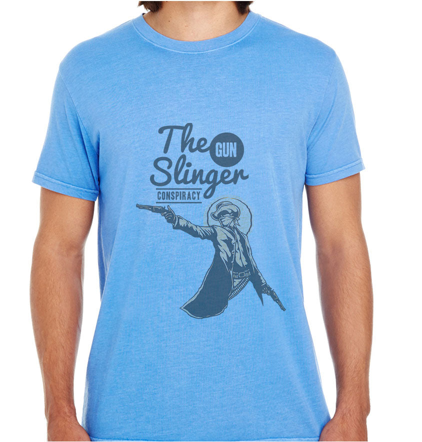 The Gun Slinger-ECO Tshirts.com