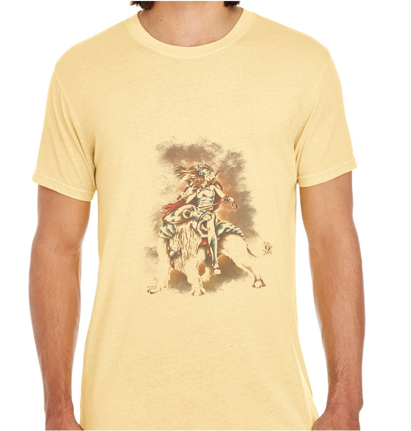 The Lion Rider-ECO Tshirts.com