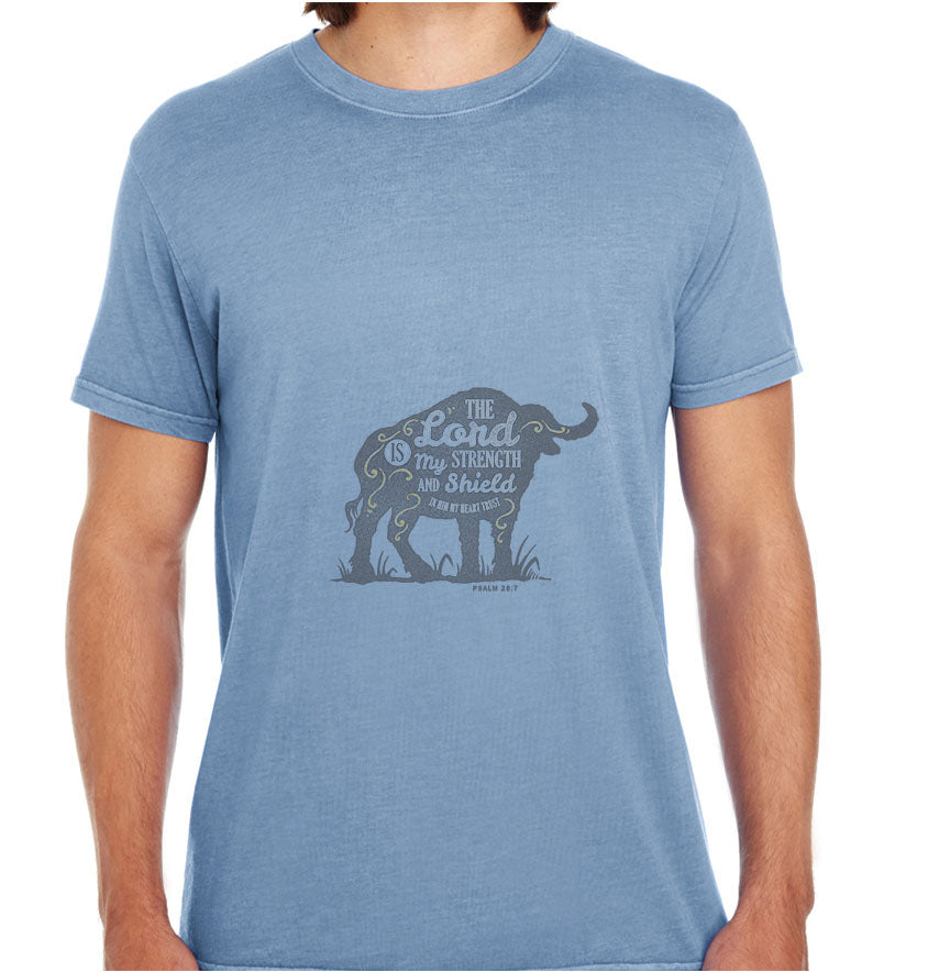 The Lord Is My Strength-ECO Tshirts.com