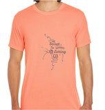 The Secret To Happiness Is Letting Go-ECO Tshirts.com