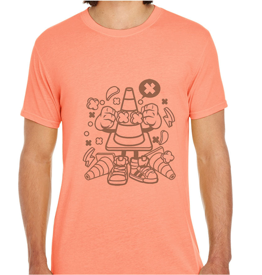 Traffic Cone-ECO Tshirts.com