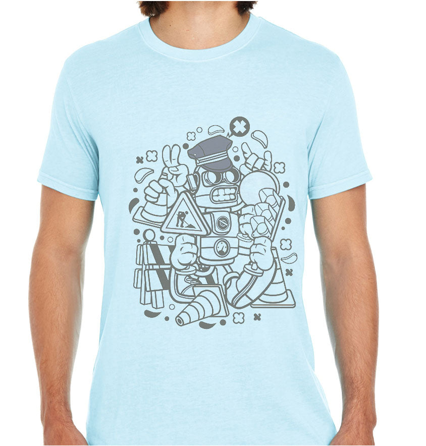 Traffic Robot-ECO Tshirts.com