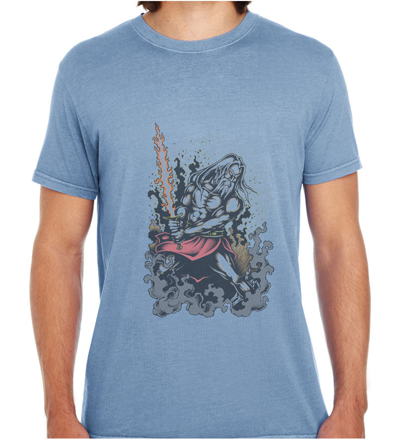 Warrior Old Man-ECO Tshirts.com