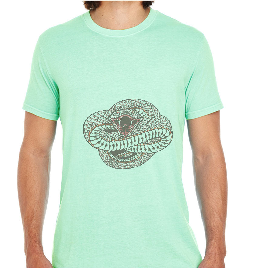 Wild And Dangerous ( Snake )-ECO Tshirts.com