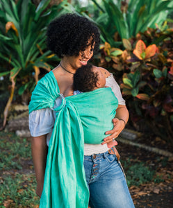 Introducing The Sling | ring sling baby carrier by Studio Tekhni