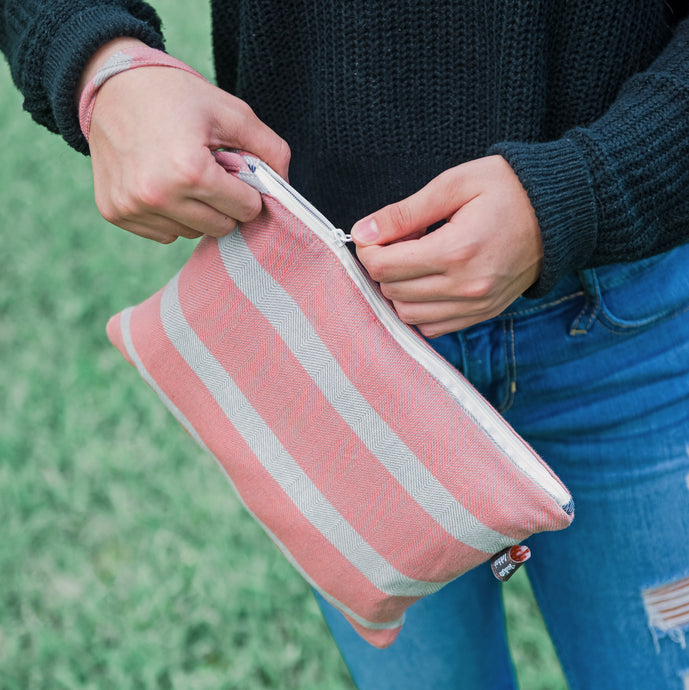 coral + denim | The Clutch