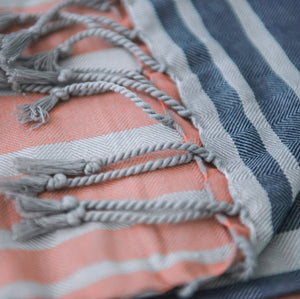 coral + denim | The Wraparound