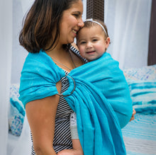 ocean + smoke  |  ring sling baby carrier