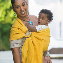 sun + smoke  |  ring sling baby carrier