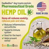 CeeBeeDoo Dog Treats with Hemp Oil for Pain Relief & Anxiety – Healthy & Tasty Hemp Treats for Dogs – Natural Pet Hemp Chews Dog Calming Treats for Small & Large Dogs, (BBQ Kabob)