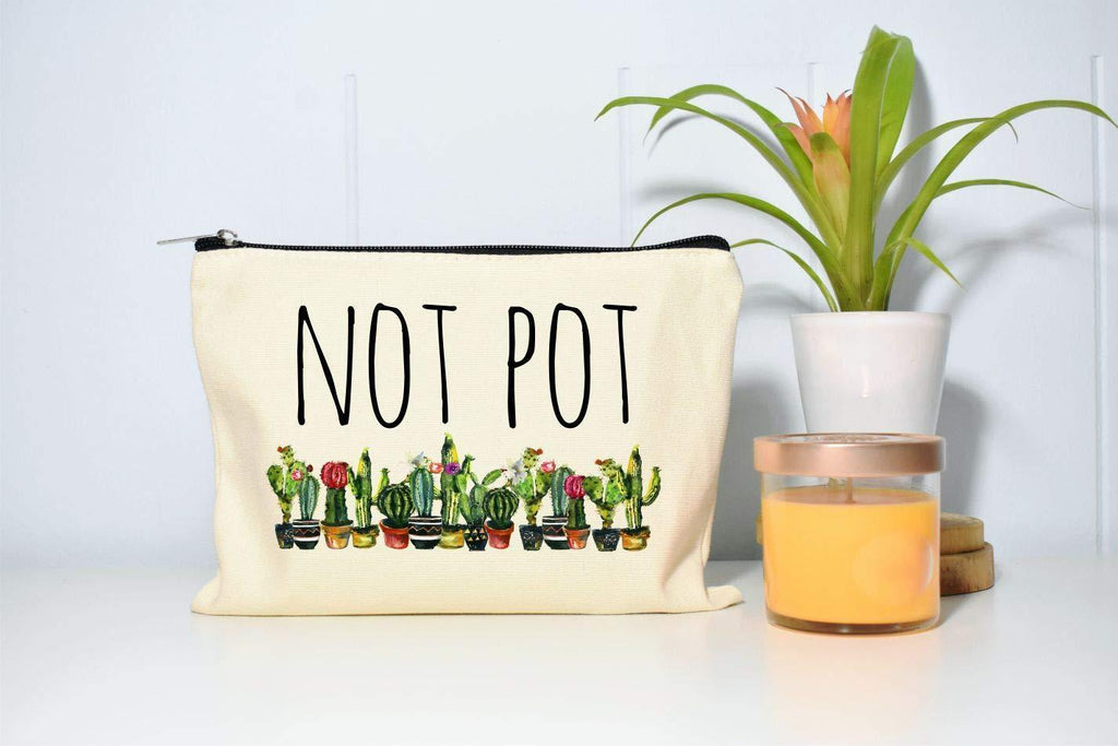 Not Pot Makeup Bag/Cosmetic Bag