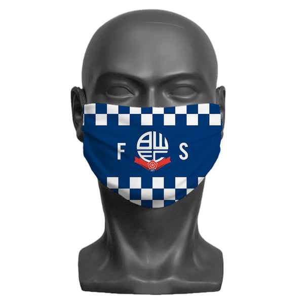 Bolton Wanderers FC Initials Adult Face Mask