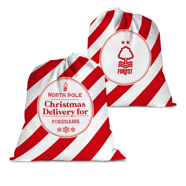 Nottingham Forest FC Christmas Delivery Santa Sack